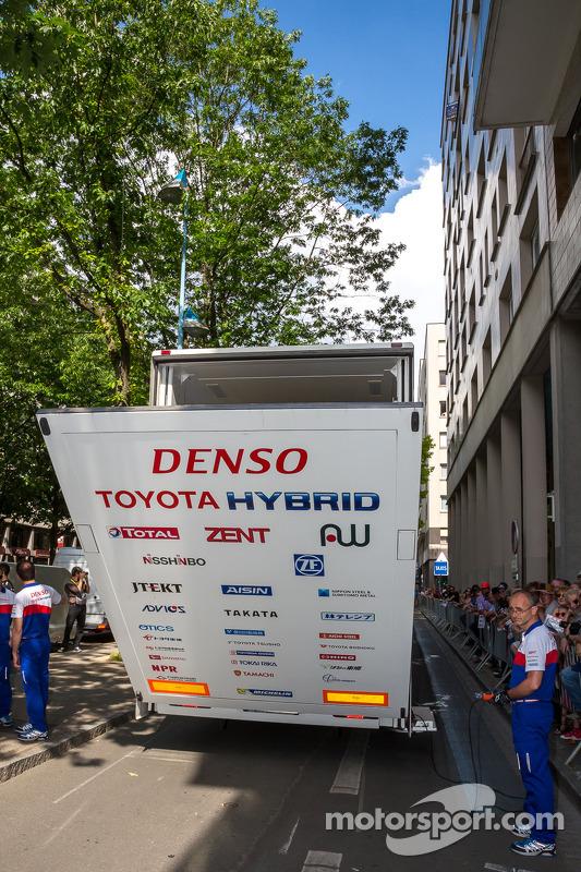 Toyota si prepara per scaricare