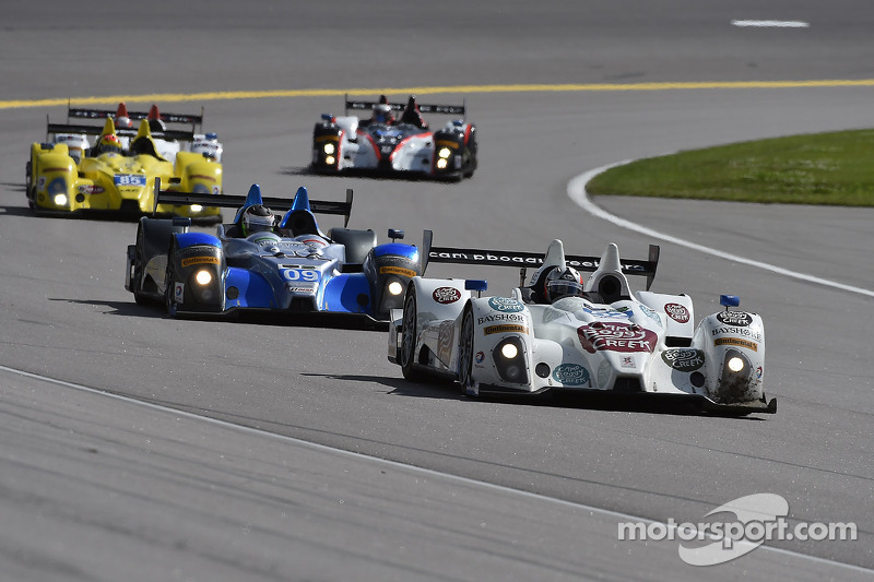 #52 PR1/Mathiasen Motorsports ORECA FLM09 雪佛兰: 古纳尔·让内特, 弗兰基·蒙泰卡尔沃