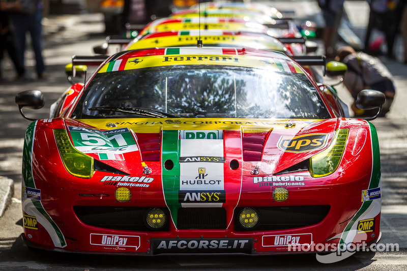 AF Corse Ferrari 458 Italia quintet