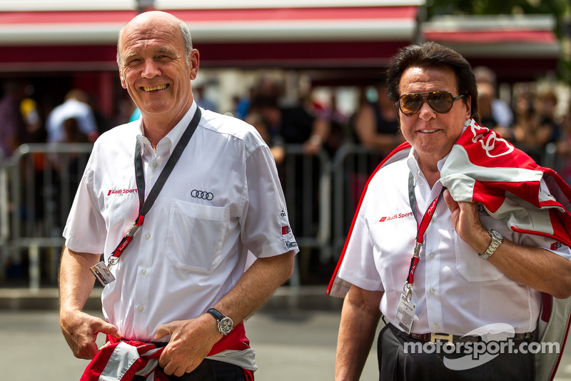 Dr. Wolfgang Ullrich and Reinhold Joest