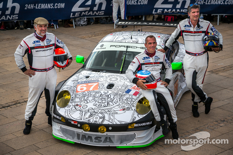 #67 IMSA Performance Matmut 保时捷 911 GT3 RSR (997): 埃里克·马里斯, 让·马克·梅兰, 埃里克·埃拉里