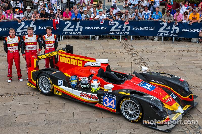 #34 Race Performance Oreca 03 - Judd: 米歇尔·弗莱, 弗兰克·马耶厄, 琼·兰卡斯特