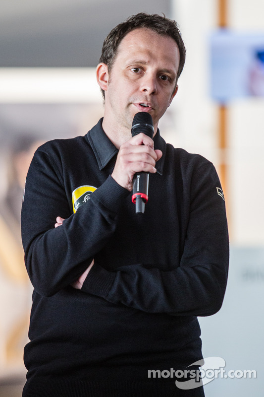 Apresentação do Lotus T129 LMP1: Chefe de operações, Boris Bermes