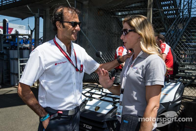 Emanuele Pirro ve Liz Halliday