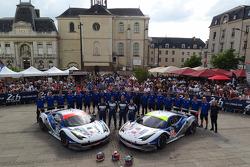 #52 RAM Racing 法拉利 458 Italia: 马特·格里芬 , 阿尔瓦罗·帕伦特, 费德里科·莱奥, #53 RAM Racing 法拉利 458 Italia: 乔尼·莫勒姆, 马克