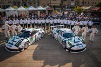 #91 保时捷 曼泰车队 保时捷 911 RSR (991): 帕特里克·皮勒, 约格·伯格麦斯特, 尼克·坦迪, #92 保时捷 曼泰车队 保时捷 911 RSR (991): 马可·霍尔泽, 弗里德利·马可维基, 理查德·莱茨