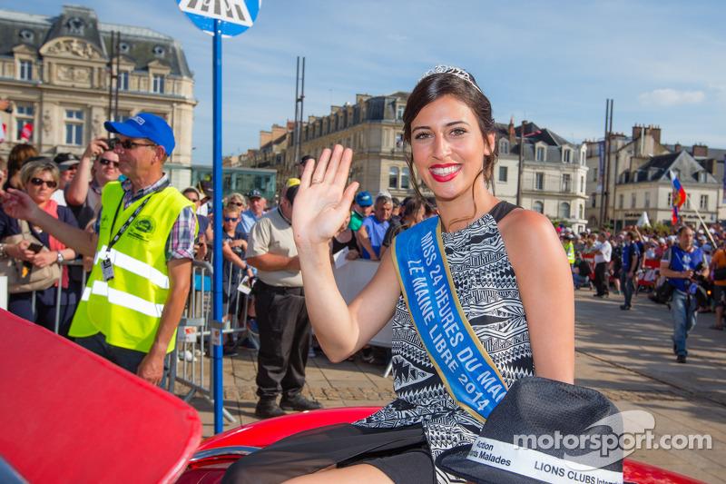 2014 di Miss 24 Ore di Le Mans