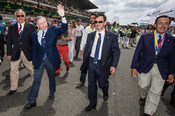 FIA President Jean Todt and ACO President Pierre Fillon
