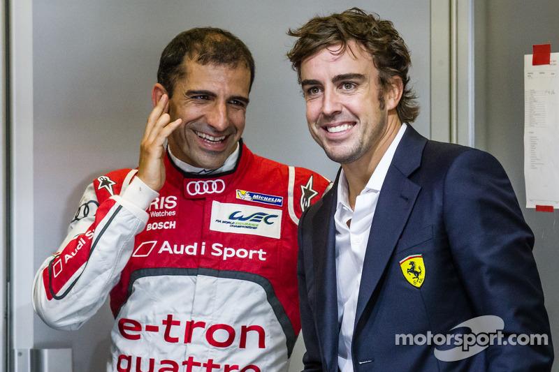 Marc Gene and Fernando Alonso