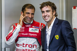 Marc Gene and Fernando Alonso