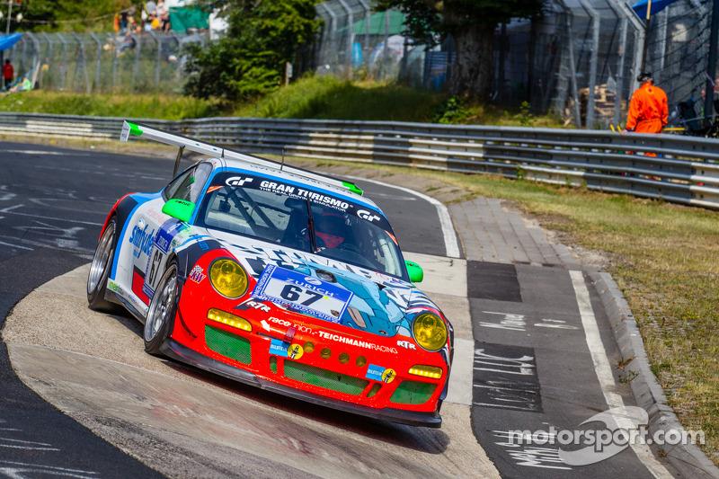 #67 Teichmann Racing 保时捷 911 GT3 Cup