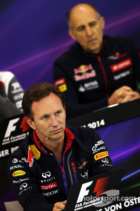 Christian Horner, Red Bull Racing Takım Patronu ve Franz Tost, Scuderia Toro Rosso Takım Müdürü FIA
