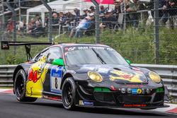 #8 Haribo Racing Porsche 997 GT3 R: Norbert Siedler, Jörg Bergmeister, Mike Stursberg, Hans Guido Ri