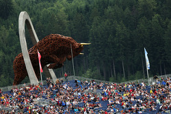Il monumento Red Bull Ring