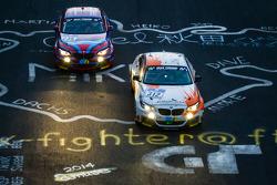 #312 BMW M235i Racing: Jörg Wiskirchen, Carsten Welschar, David Ackermann, #235 BMW Motorsport BMW M235i Racing: Marcus Schurig, Alex Hofmann, Jethro Bovingdon, Alexander Mies