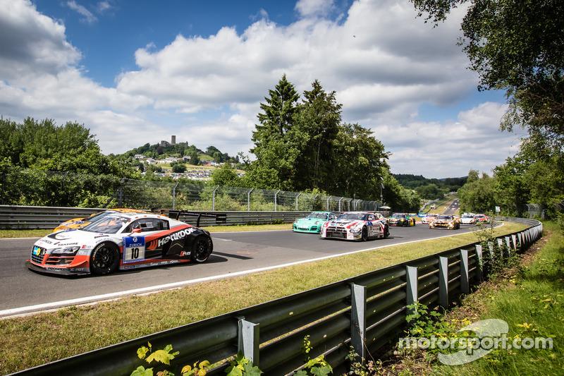 Via: #10 Abt Racing Audi R8 LMS ultra: Christopher Mies, Christer Jöns, Niclas Kentenich, Dominik Schwager