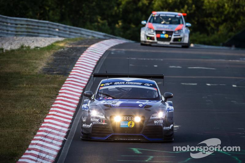 #108 Rotek Racing Audi TT RS: Robert Huff, Robb Holland, Richard Meins, Kevin Gleason