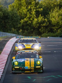 #63 Porsche 997 GT3 Kupası: Martin Schlüter, Dirk Lessmeister, Ralf Oehme