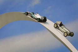 Goodwood Festival of Speed ​​2014 Mercedes in mostra