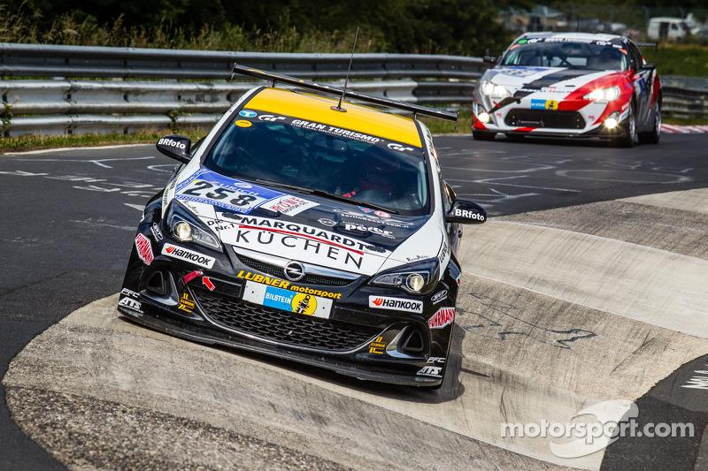 #258 Lubner Event & Motorsport Opel Astra OPC Cup: Marcel Hartl, Herbert von Danwitz, Thomas Frank