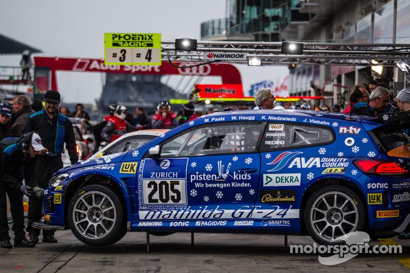 #205 Mathilda Racing 大众 Scirocco GT-24: Michael Paatz, Klaus Niedzwiedz, Johannes Stuck, Wolfgang Haugg