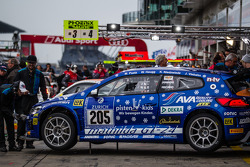 #205 Mathilda Racing 大众 Scirocco GT-24: Michael Paatz, Klaus Niedzwiedz, Johannes Stuck, Wolfgang Haugg