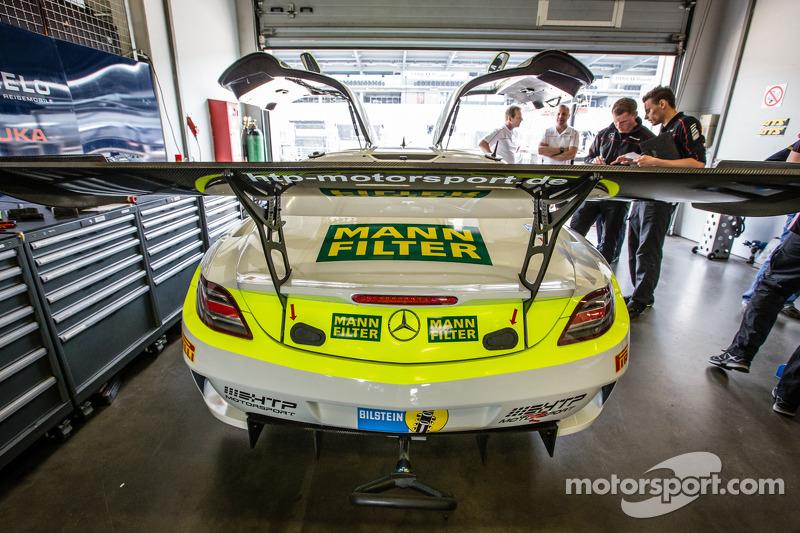 #15 HTP Motorsport 梅赛德斯-奔驰 SLS AMG GT3