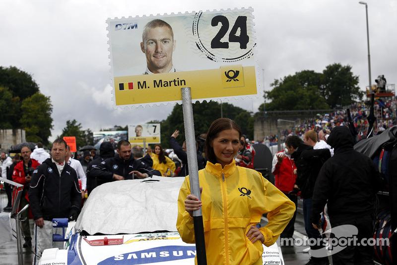 Grid kızı: Maxime Martin, BMW RMG Takımı BMW M4 DTM