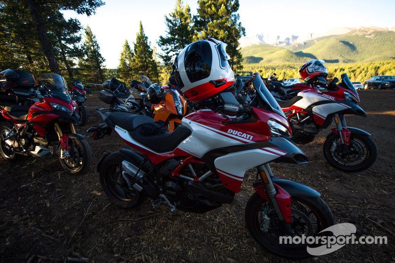 Ducati motorları yarış için hazır