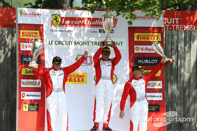 TP podio: vincitore della gara Ricardo Perez, secondo posto Emmanuel Anassis, terzo posto Ryan Ockey
