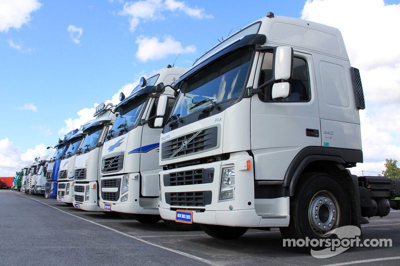 Camion a Silverstone