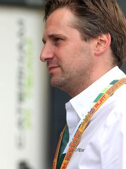 Christijan Albers, Caterham F1 Takımı, Takım Menajeri