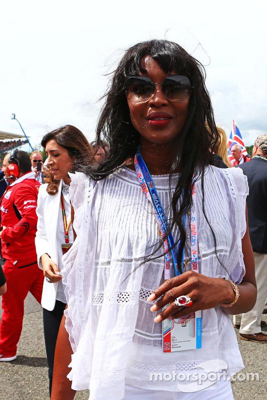 Naomi Campbell, na grid