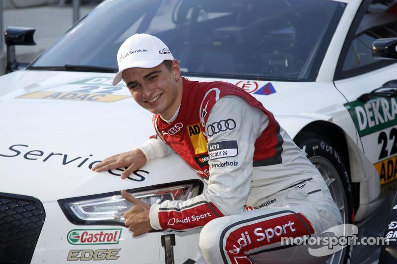 3rd in Qualifying Nico Müller, Audi Sport Team Rosberg Audi RS 5 DTM
