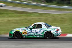 #25 Freedom Autosport 马自达 MX-5: 马特·庞博, 马克·庞博