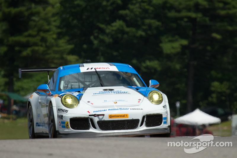 #18 Muehlner Motorsports America Porsche 911 GT America: Mark Thomas, Chris Green