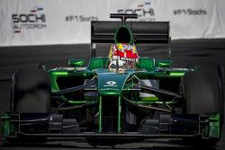 Robin Frijns, Caterham Test- en reservecoureur