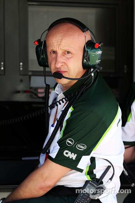 Miodrag Kotur, Caterham F1, Teammanager