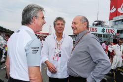 Ron Dennis, Presidente Ejecutivo de McLaren, con Bill McDermott, Director General de SAP, en la parr