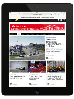 Prévia do Motorsport.com website Geração 5