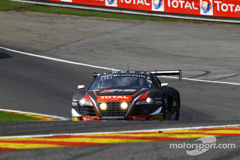 #3 Belgian Audi Club Team WRT Audi R8 LMS ultra: Christopher Mies, James Nash, Frank Stippler