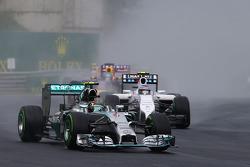 Rennstart: Nico Rosberg, Mercedes AMG F1 W05