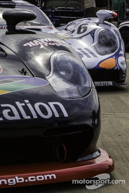 Porsche GT1 detalhes