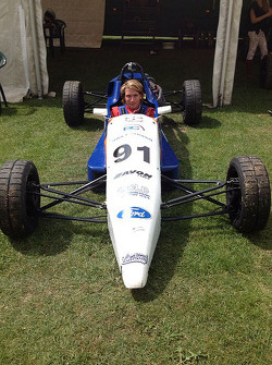 Freddie Hunt Formula Ford aracında