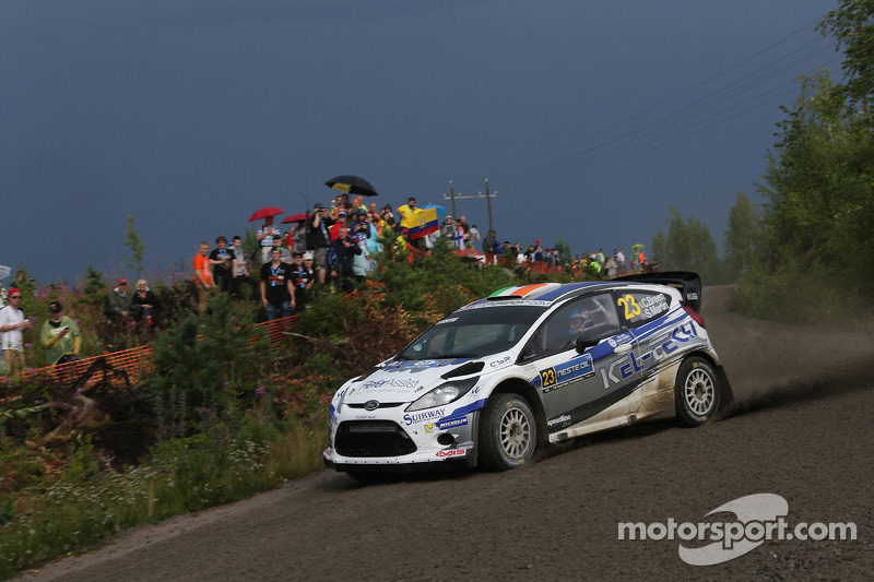 Craig Breen ve Scott Martin, Ford Fiesta WRC