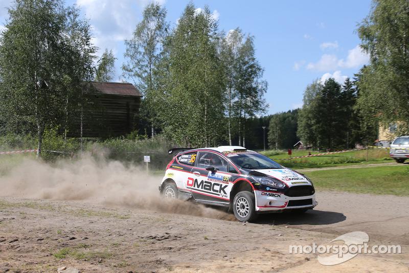 Jari Ketomaa e Kaj Lindstrom, Ford Fiesta R5