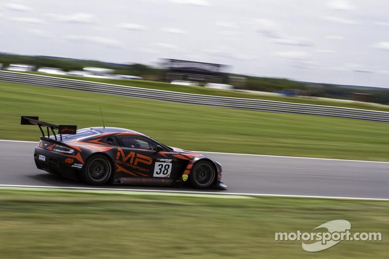 #38 MP Motorsport AMR Aston Martin Vantage GT3: Mark Poole, Richard Abra