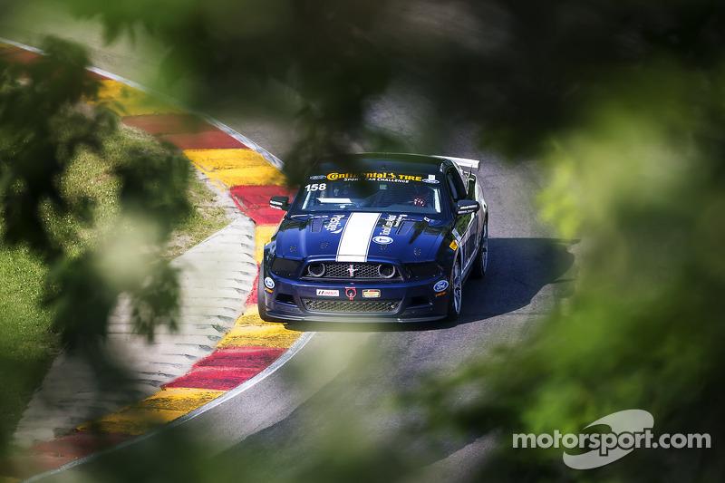 #158 Multimatic Motorsports 野马 Boss 302R: 伊恩·詹姆斯, 比利·约翰逊