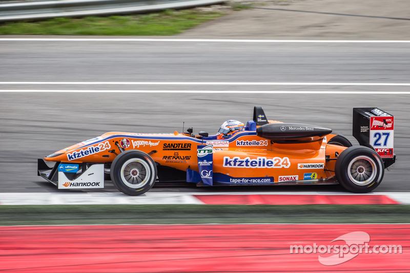 Felix Rosenqvist, kfzteile24 Mücke Motorsport Dallara F312 Mercedes
