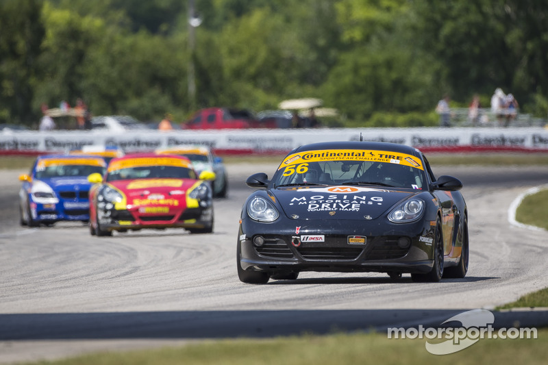 #56 BERG Racing Porsche Cayman: Jeff Mosing, Eric Foss
